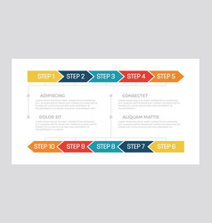 Set turquoise and dark blue red yellow vector