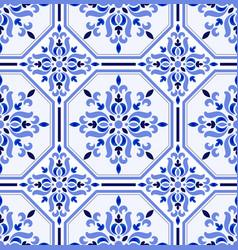 Talavera tile pattern vector