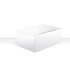 white large box vector image