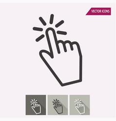 Hand - icon vector