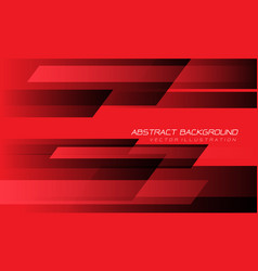 Abstract red black speed geometric technology vector