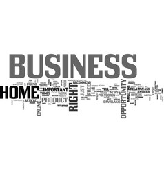 Are you in the right business text word cloud vector