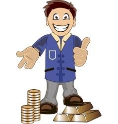Bankeer vector image