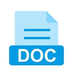 DOC File vector