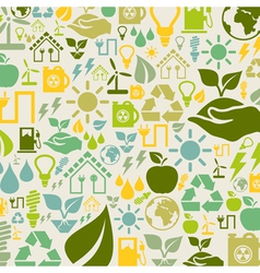 Ecology a background vector