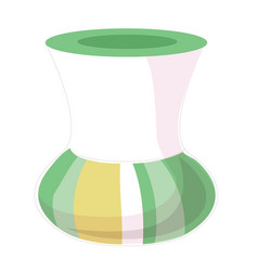 flat style of vase icon for vector image