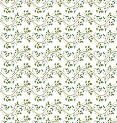 floral pattern seamless texture vector image