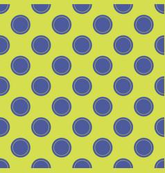Seamless abstract circle dots pattern vector