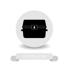 treasure icon vector image