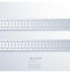 modern trace of the tire background vector image