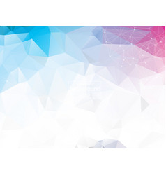 abstract triangular blue background with vector image