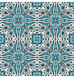 Blue ornament vector image