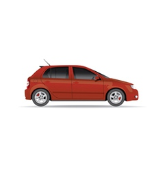Hatchback car vector
