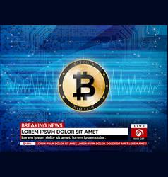 Ico - initial coin offering token concept vector