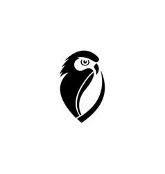 inspiration owl logo vector image