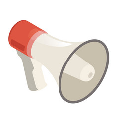 loudspeaker icon megaphone promotion public vector image