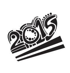 NewYear2015 vector image