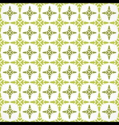seamless floral pattern for invitation or vintage vector image