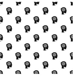 Target in human head pattern vector