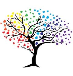 Tree rainbow vector