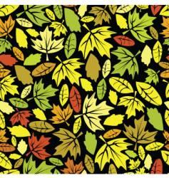 autumn leaf colored seamless vector image