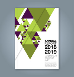 Cover annual report 1135 vector