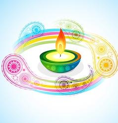 diwali background vector image