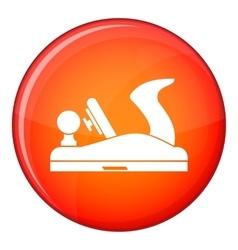 Jack plane icon flat style vector