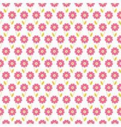 Light summer seamless pattern tiling Fond pink vector