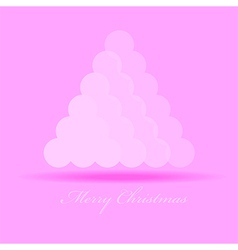Merry Christmas graphic design - abstract backgrou vector image