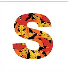 S Letter vector