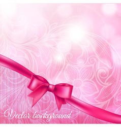 abstract background with bow vector image