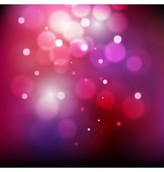 Abstract defocused christmas background Festive vector