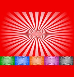 Abstract radial lines starburst sunburst circular vector
