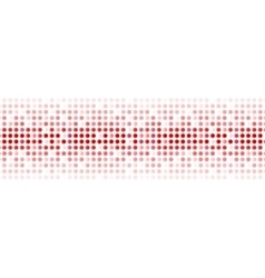 Abstract red shiny circles background vector