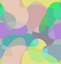 Abstract shapes pattern old school background vector image