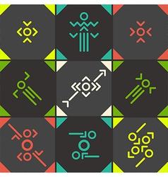 Abstract symbol set vector