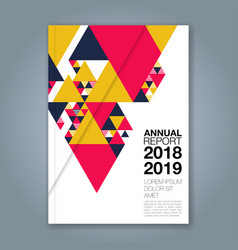 Cover annual report 1140 vector