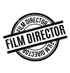 film director rubber stamp vector image