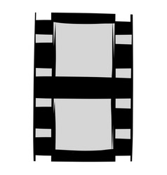 Film strip icon cartoon vector