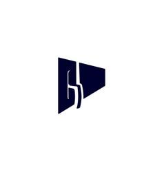 Stucco plasterer logo vertical vector
