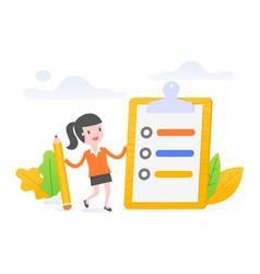 task management vector image