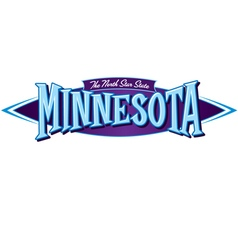 Minnesota The North Star State vector image vector image