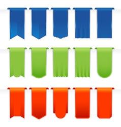 Ribbons Big Set vector image vector image