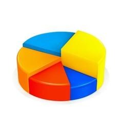 Circular diagram vector image vector image