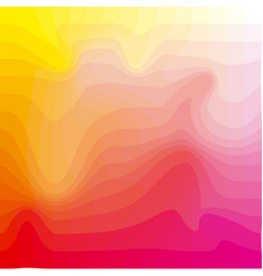 hot red and yellow abstract colorful mosaic vector image