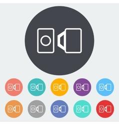 Belt single icon vector image vector image