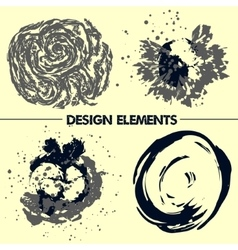 Abstract elements for your design vector