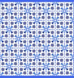 azulejos portuguese traditional ornamental tile vector image
