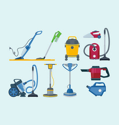 Cleaning equipment electrical vacuum cleaner vector